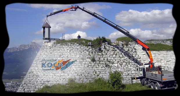 Ruine for Koch transporte