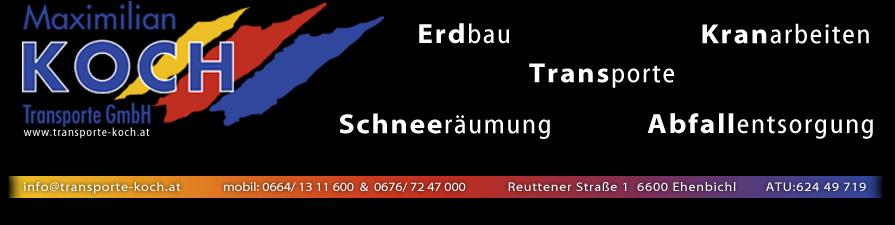Startseite for Koch transporte